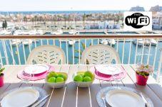 Apartamento en Empuriabrava - 0161-PORT GREC Apartamento con WIFI, vista al canal y al mar